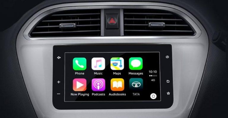 Tata Tiago Tigor Apple Carplay
