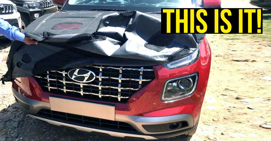 Hyundai Venue sub-4 meter compact SUV leaked before official launch in India