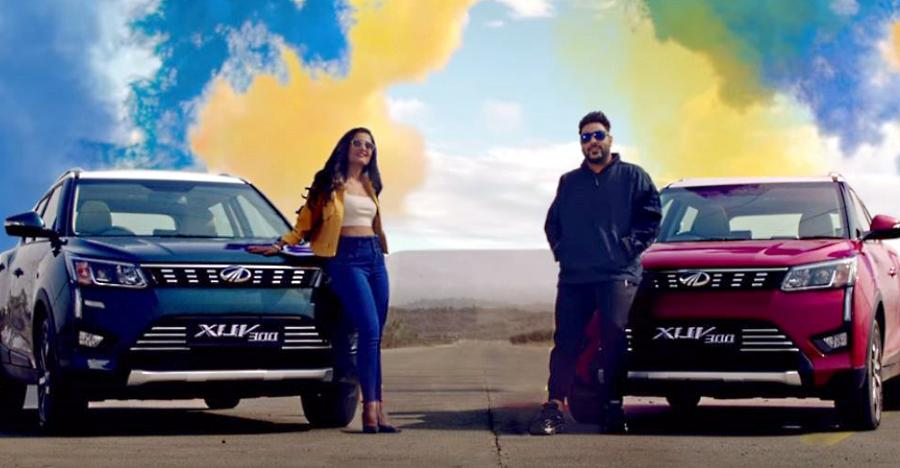 The Mahindra XUV300 gets its own rap song from Badshah [Video]