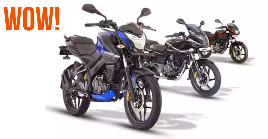 Bajaj Pulsar 1 Lakh Sales Featured