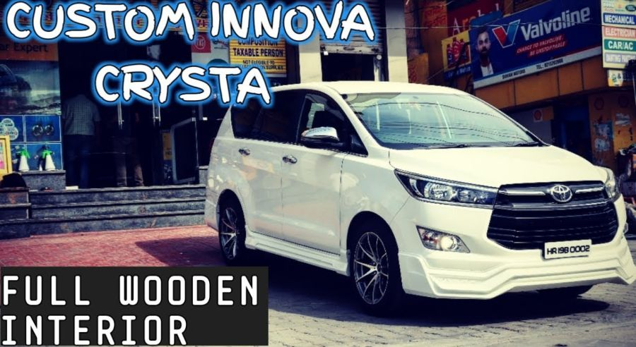 This lowrider Toyota Innova Crysta is HOT inside out! [Video]