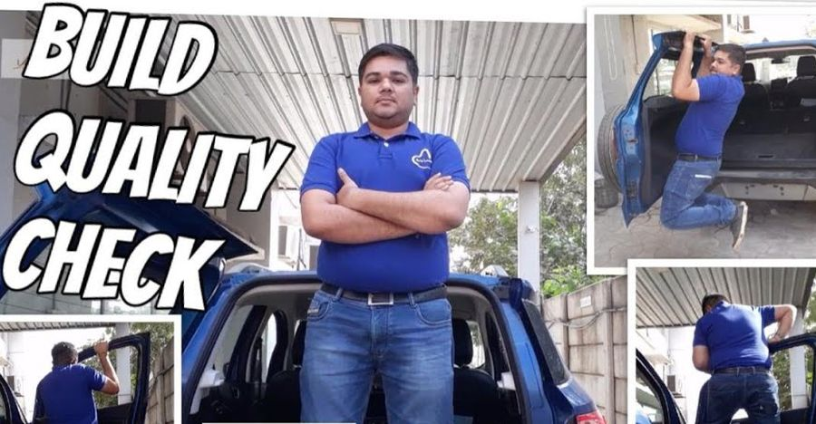 Vlogger's interesting way to demonstrate Ford EcoSport SUV's build quality [Video]