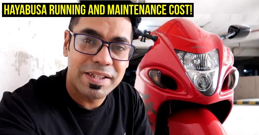 How much does it cost to run a Superbike? Suzuki Hayabusa owner explains [Video]