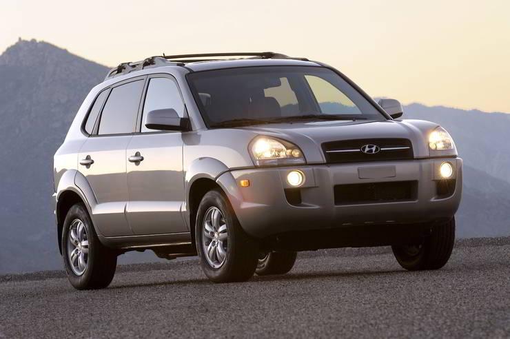 Hyundai Tucson Old