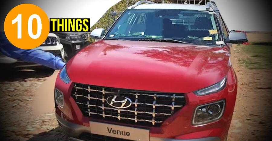 Hyundai Venue: 10 things you need to know about the upcoming Maruti Brezza rival