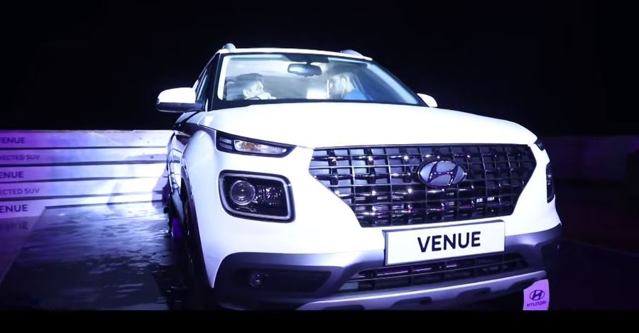 Hyundai Venue: Watch it getting unveiled on a ship, off the Indian coast [Video]