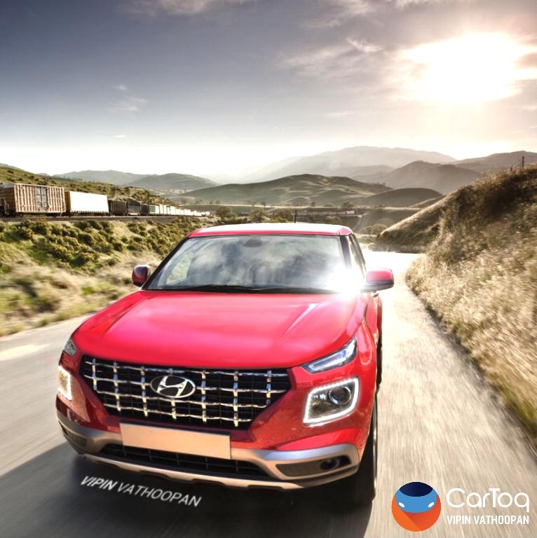 Hyundai Venue Final Render