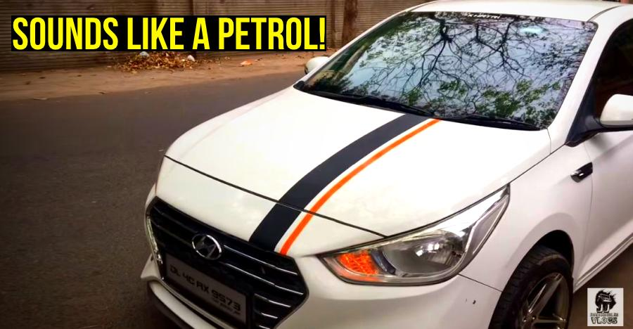 This Hyundai Verna Diesel's modified exhaust sounds so good, costs just Rs. 7,000 [Video]