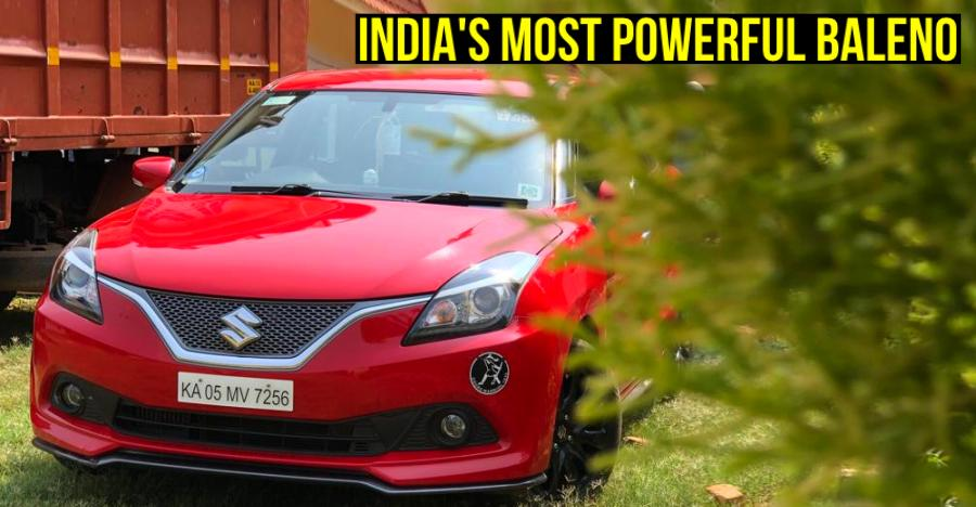 India's Most Powerful Maruti Baleno Featured