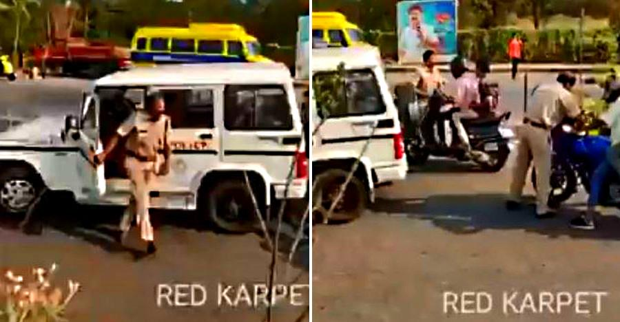 Kerala police cracks down on modified vehicles including scooters with aftermarket seats