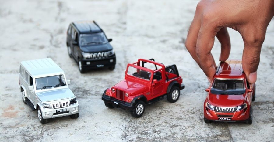 Official Mahindra scale models of XUV500, Bolero, Thar & more: Check them out on video