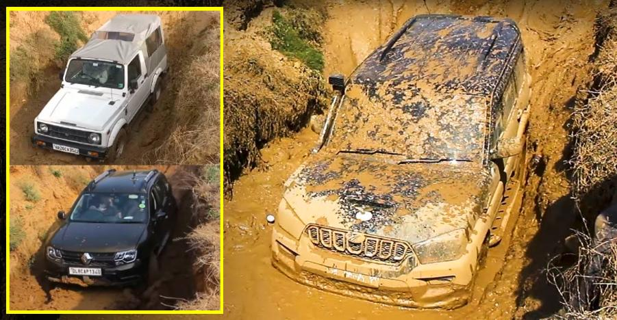 Mahindra Scorpio Slush Test Featured