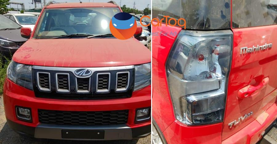 Mahindra Tuv300 Spyshot Featured
