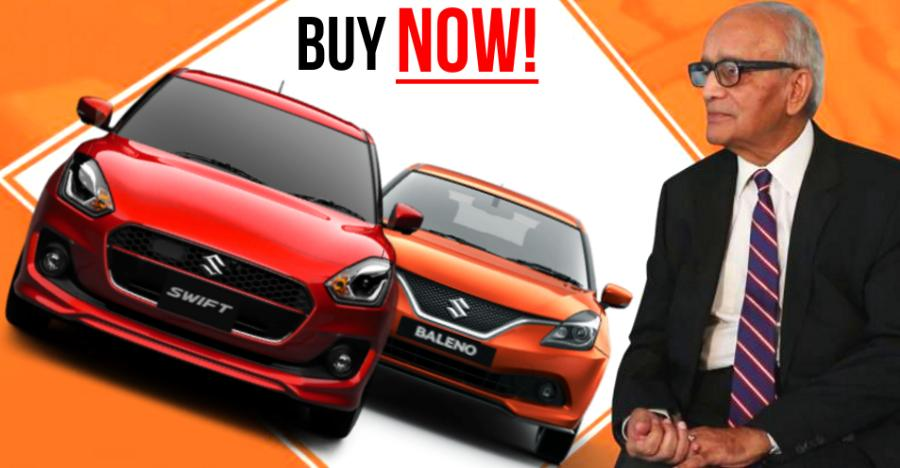 2019: Last chance to buy cheap diesel cars, says Maruti Chairman