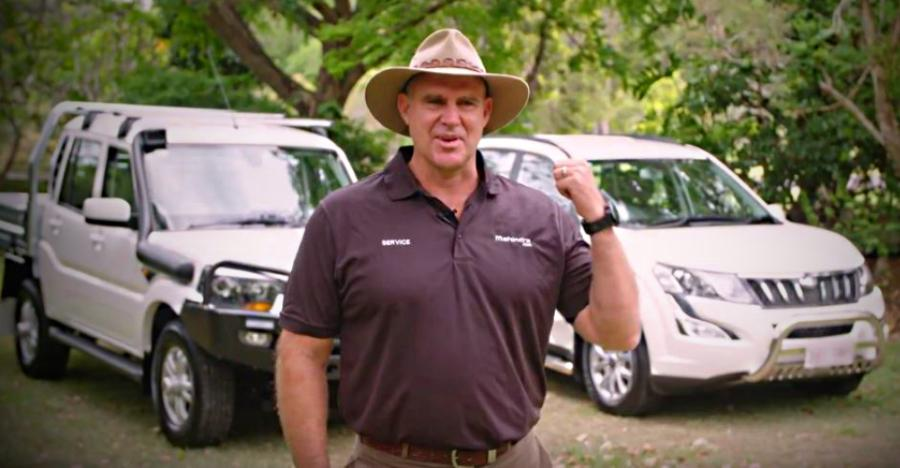 What Matthew Hayden has to say about the Mahindra XUV500 SUV & Scorpio pick up truck [Video]