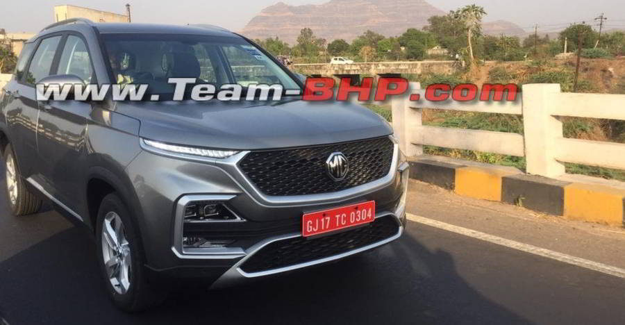 Mg Hector Spied Featured
