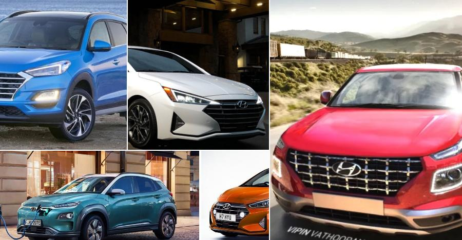 Hyundai's 5 big car launches of 2019: From Venue Compact SUV to Kona Electric