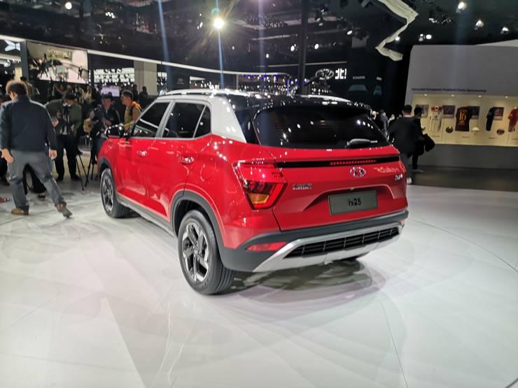 New Hyundai Creta Rear
