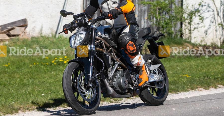 New Ktm 390 Duke Spyshot Featured