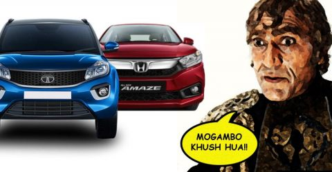 Tata Honda April 2019 Discounts