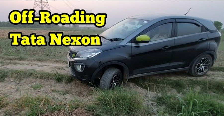 Watch the Tata Nexon show off its segment-best ground clearance by going off the road [Video]