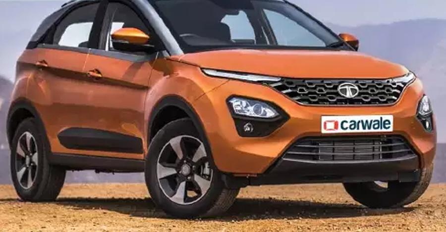 Facelifted Tata Nexon inspired by the Harrier's Impact 2.0 design: Check it out!