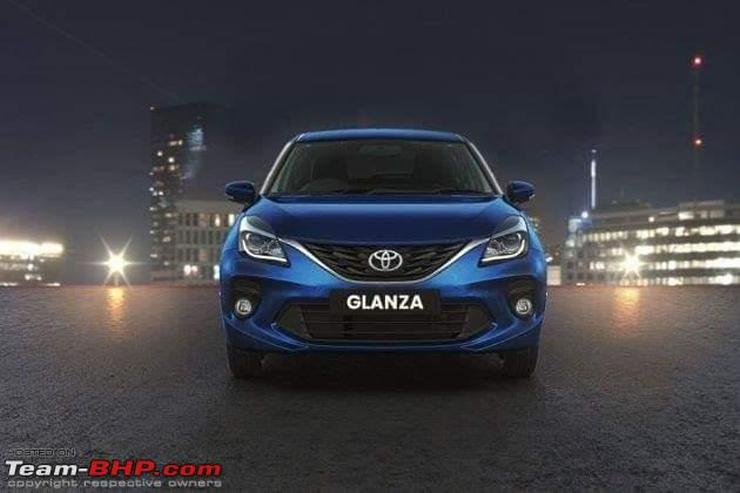 Toyota Glanza Premium Hatchback Dealer Sends In Pictures Of The