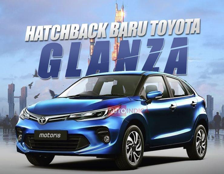 Toyota Glanza Render