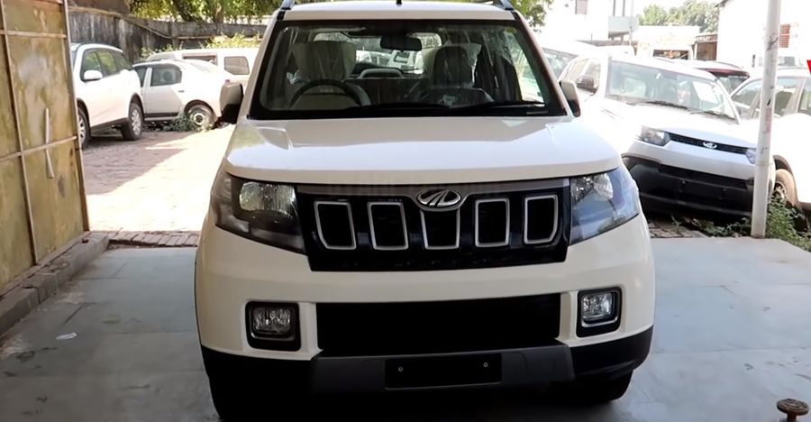 Watch the upcoming Mahindra TUV300 SUV facelift on video