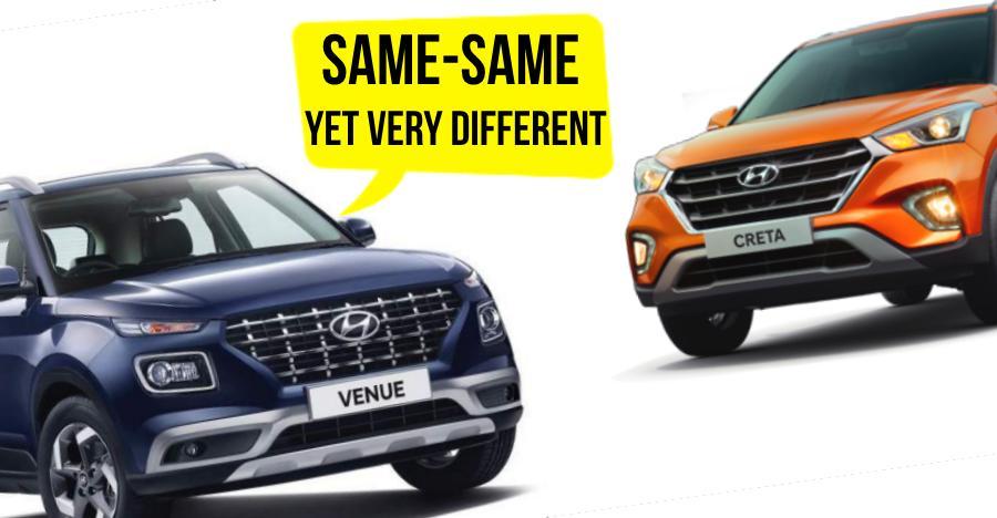 Hyundai Venue vs Creta: 10 BIG changes you need to know about!