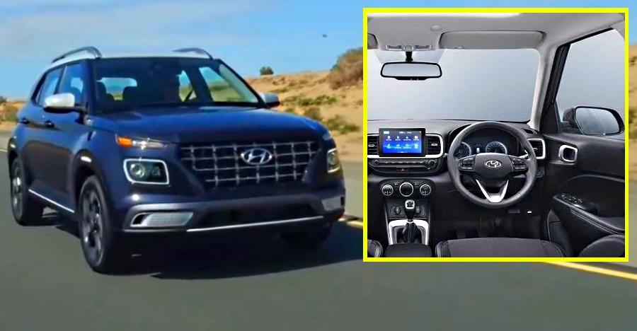 Hyundai Venue: First high quality video shows the Maruti Brezza-rivaling compact SUV inside-out