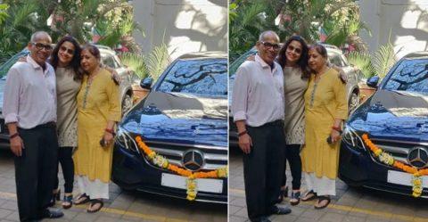 Vidya Balan Mercedes Benz E Class Featured