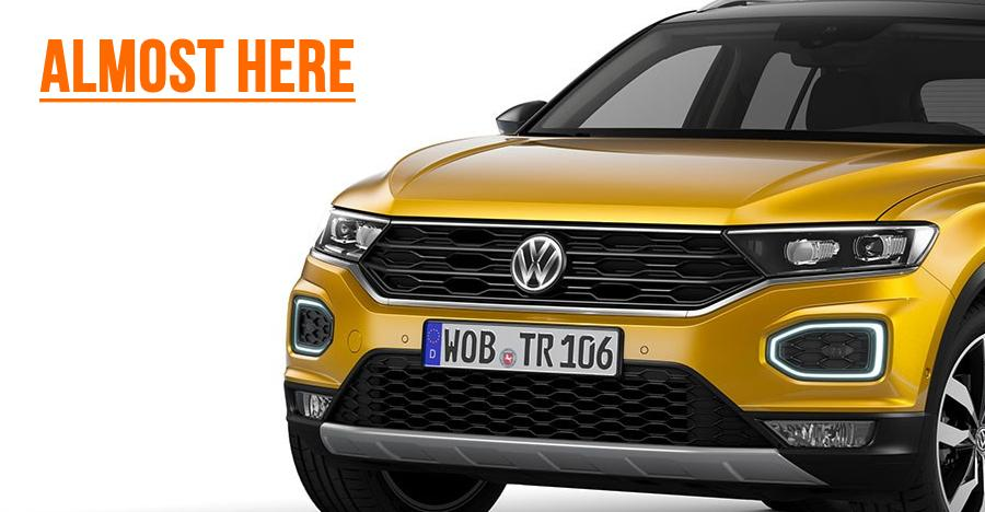 Volkswagen T-Roc SUV coming this year; T-Cross in 2021