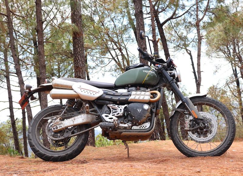 14triumph Scrambler 1200 India