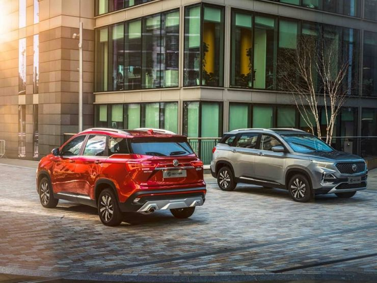 Mg Hector Suv 7 Seat Version Of The Tata Harrier Rival In The Works