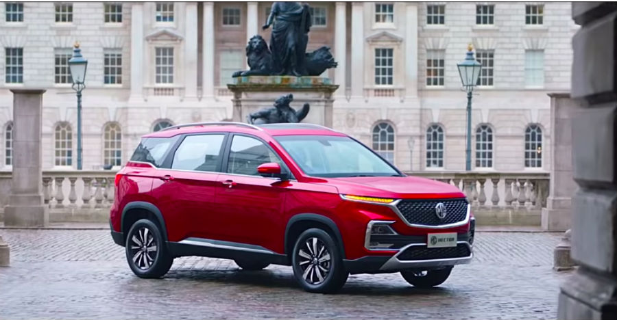 Mg Hector Suv Official Specifications New Tvc Out Launch In June