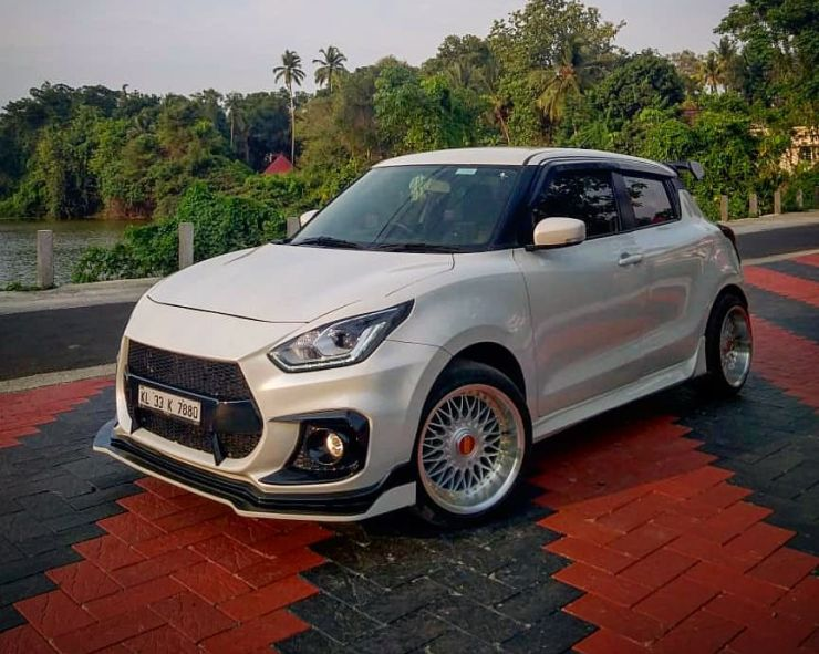 Here is India's first extensively modified new Maruti Suzuki