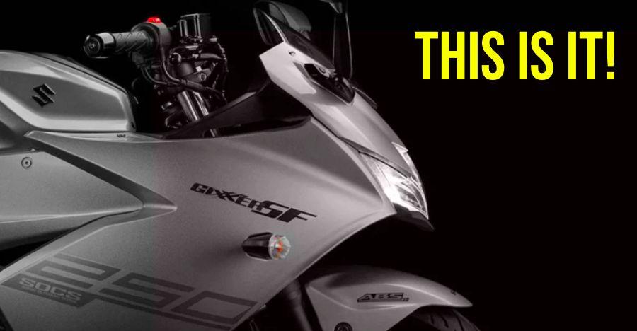 Suzuki Gixxer 250: New pictures reveal front & rear of