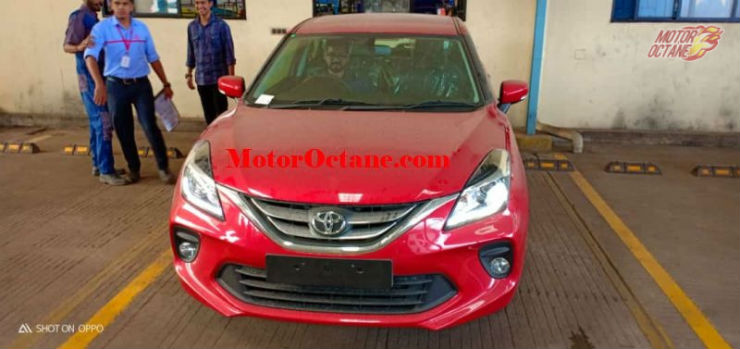 Toyota Glanza Front