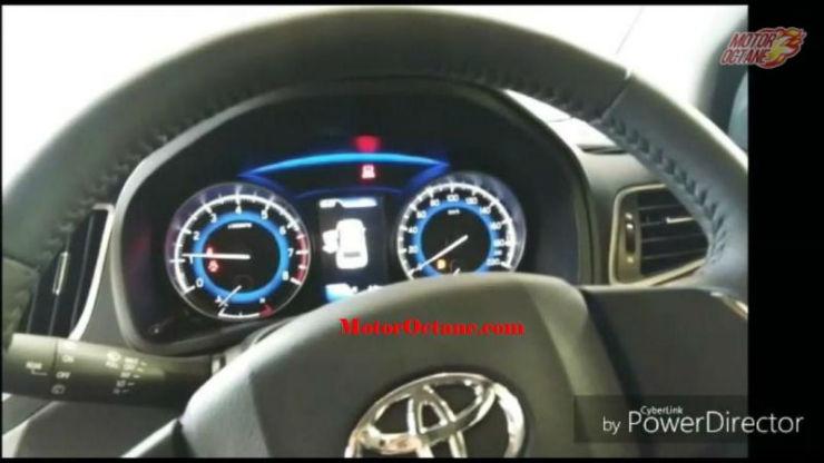 Toyota Glanza Intrument Cluster 800x450
