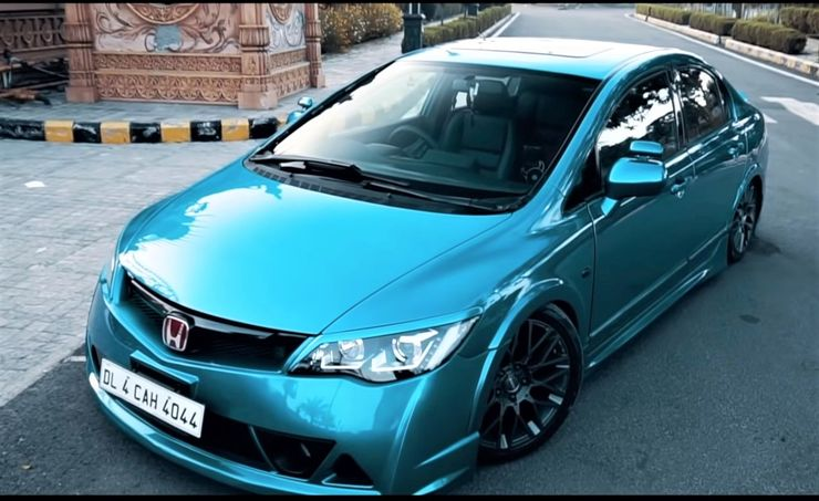 North India's first bagged Honda Civic is here: Looks HOT