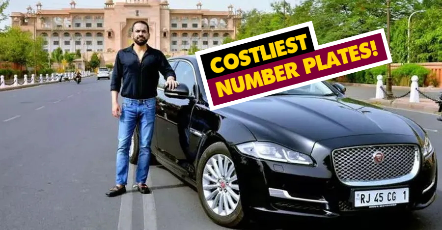 Costliest Number Plates Featured
