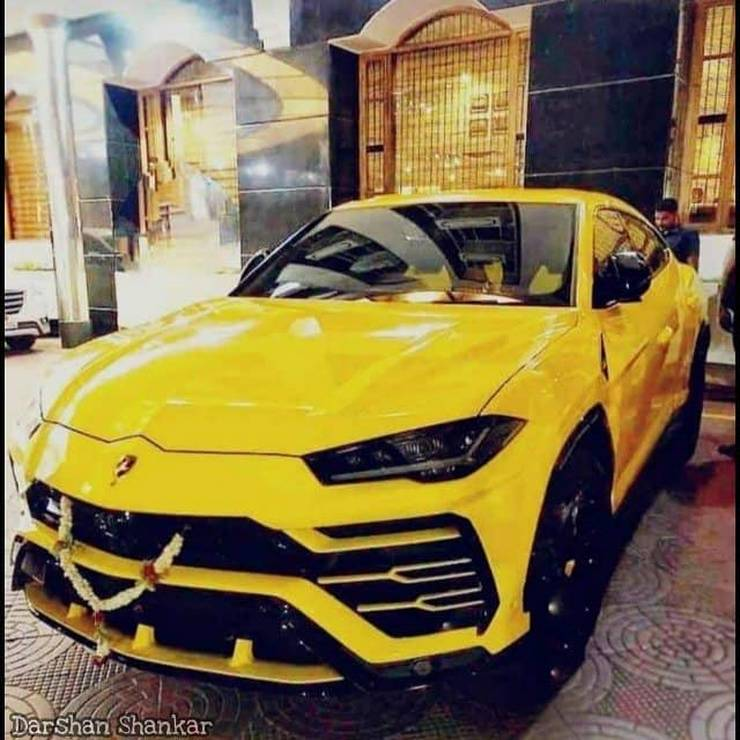 Kannada film star Darshan buys a brand new Lamborghini Urus