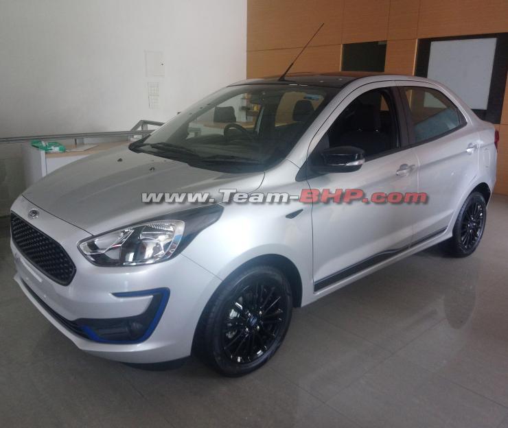Ford Figo Aspire Titanium Blu 1