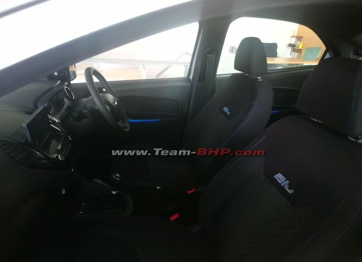 Ford Figo Aspire Titanium Blu 2