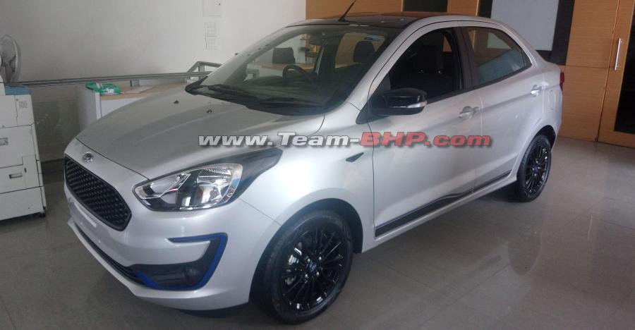 Ford Figo Aspire Titanium Blu Featured