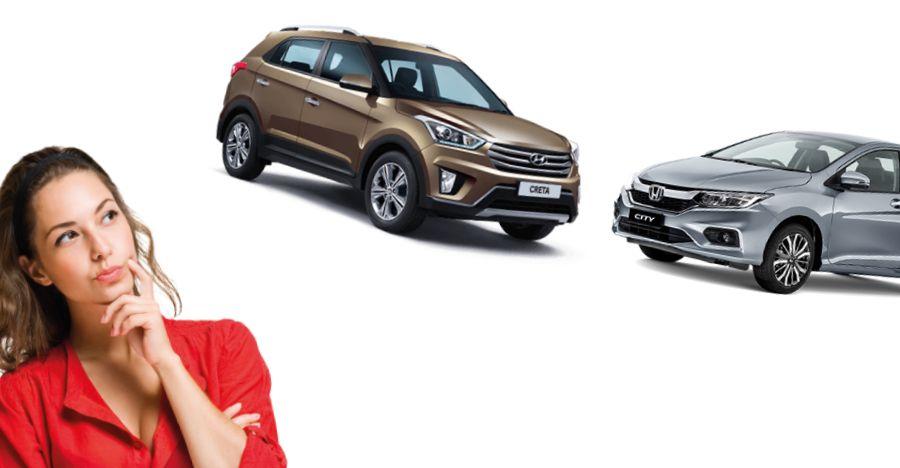 Honda City Vs Hyundai Creta Featured