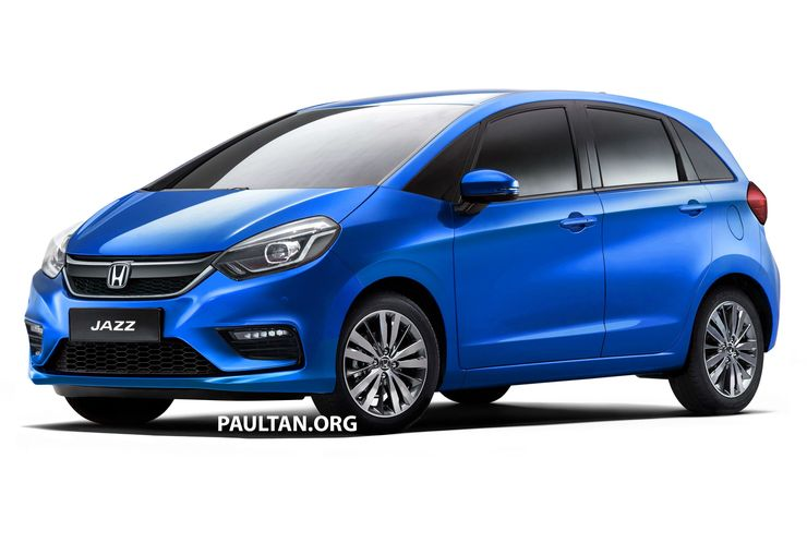 2020 All New Honda Jazz Premium Hatchback What It Ll Look Like