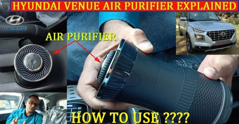 Hyundai Venue Air Purifier Featured