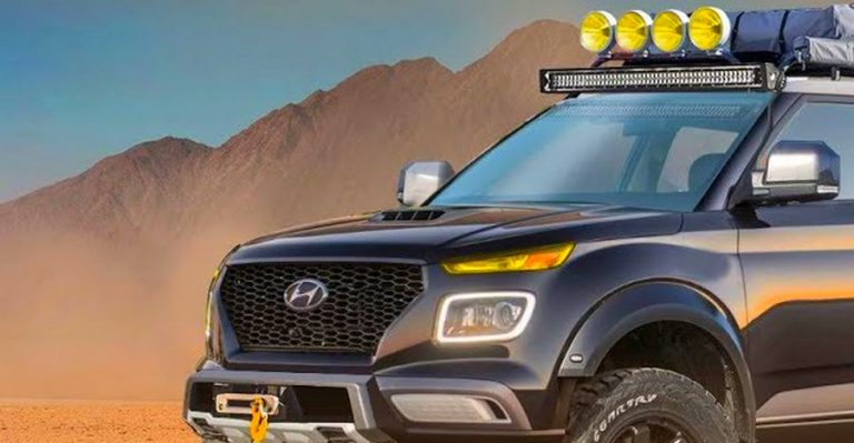 Hyundai Venue Off Roader Render Featured